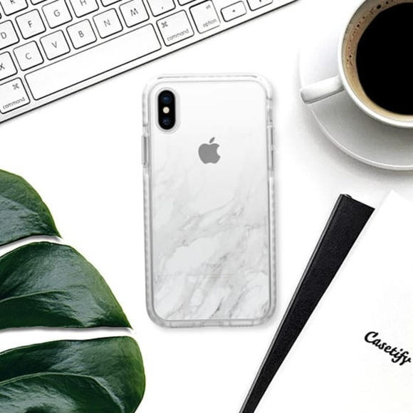 Casetify iPhone X Gradient Marble Impact Case